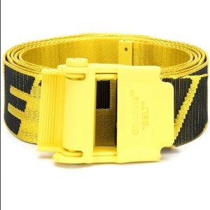 OFF WHITE Virgil Abloh Yellow Belt